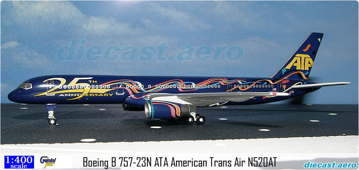 Boeing B 757-23N ATA American Trans Air N520AT