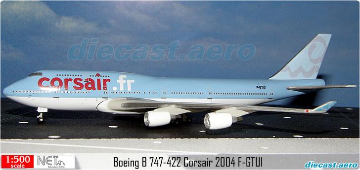 Boeing B 747-422 Corsair 2004 F-GTUI