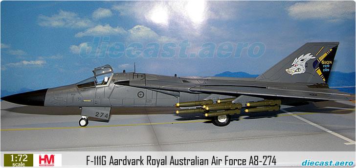 F-111G Aardvark Royal Australian Air Force A8-274
