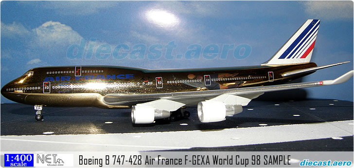 Boeing B 747-428 Air France F-GEXA World Cup 98 SAMPLE