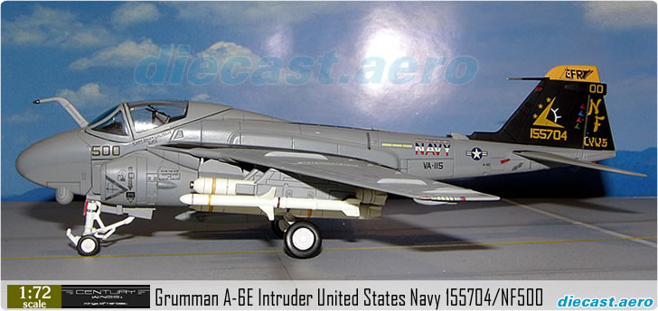 Grumman A-6E Intruder United States Navy 155704/NF500