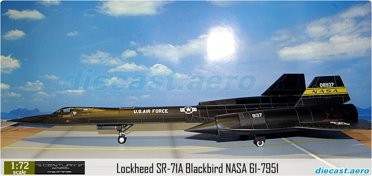 Lockheed SR-71A Blackbird NASA 61-7951