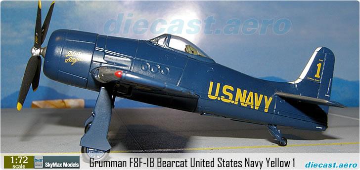 Grumman F8F-1B Bearcat United States Navy Yellow 1