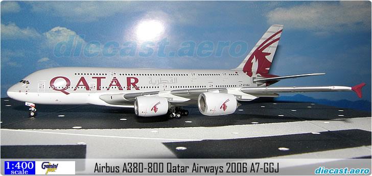 Airbus A380-800 Qatar Airways 2006 A7-GGJ