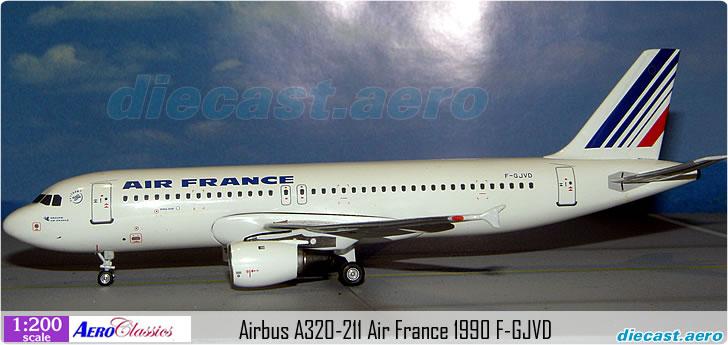 Airbus A320-211 Air France 1990 F-GJVD