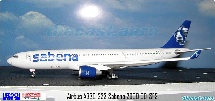 Airbus A330-223 Sabena 2000 OO-SFS