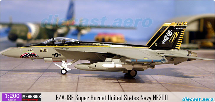 F/A-18F Super Hornet United States Navy NF200