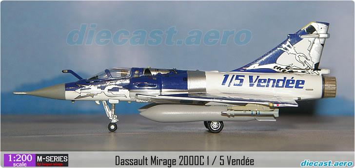 Dassault Mirage 2000C 1 / 5 Vendée