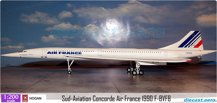 Sud-Aviation Concorde Air France 1990 F-BVFB