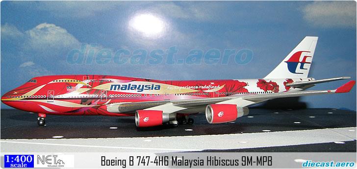 Boeing B 747-4H6 Malaysia Hibiscus 9M-MPB