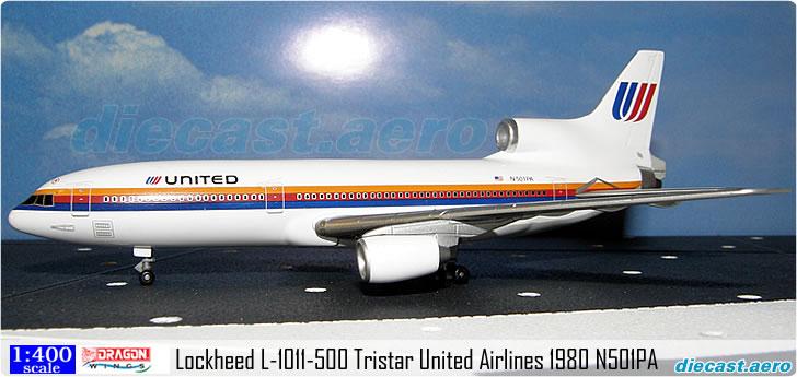 Lockheed L-1011-500 Tristar United Airlines 1980 N501PA