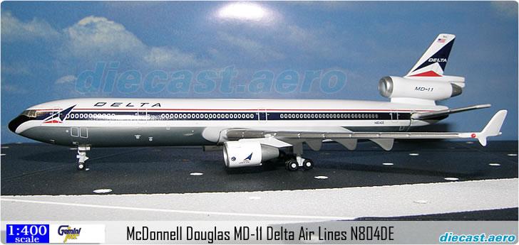 McDonnell Douglas MD-11 Delta Air Lines N804DE