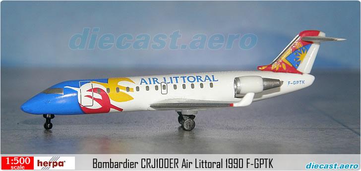 Bombardier CRJ100ER Air Littoral 1990 F-GPTK