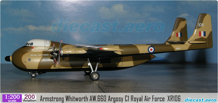 Armstrong Whitworth AW.660 Argosy C1 Royal Air Force  XR106
