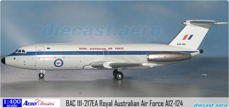 BAC 111-217EA Royal Australian Air Force A12-124
