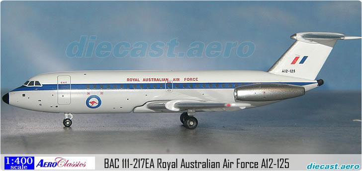BAC 111-217EA Royal Australian Air Force A12-125