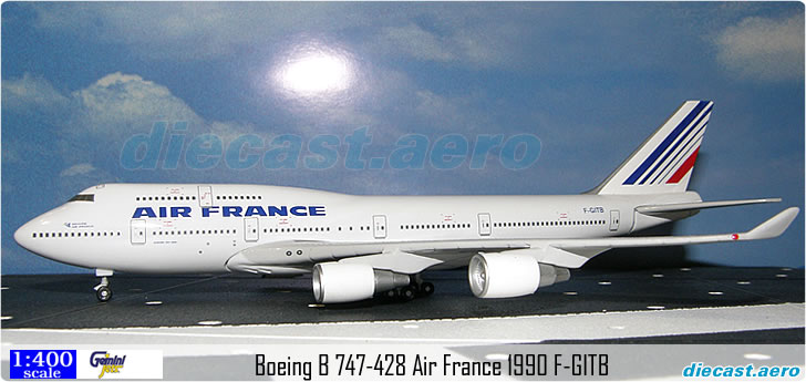 Boeing B 747-428 Air France 1990 F-GITB