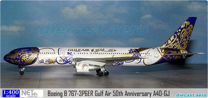 Boeing B 767-3P6ER Gulf Air 50th Anniversary A4O-GJ