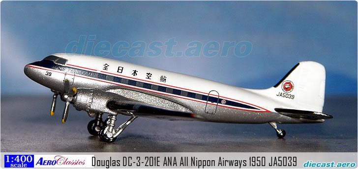 Douglas DC-3-201E ANA All Nippon Airways 1950 JA5039
