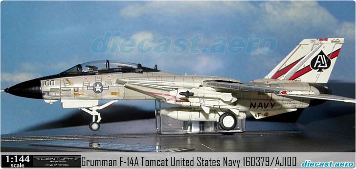 Grumman F-14A Tomcat United States Navy 160379/AJ100