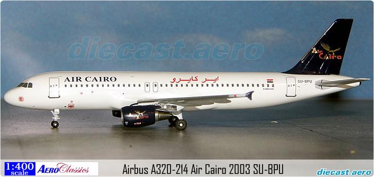 Airbus A320-214 Air Cairo 2003 SU-BPU