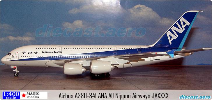 Airbus A380-841 ANA All Nippon Airways JAXXXX-2