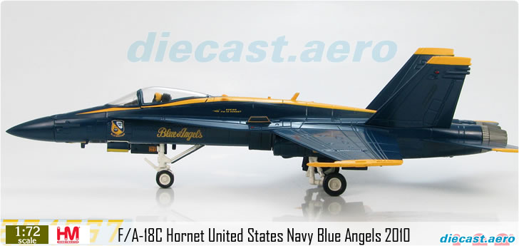 F/A-18C Hornet United States Navy Blue Angels 2010