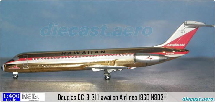 Douglas DC-9-31 Hawaiian Airlines 1960 N903H