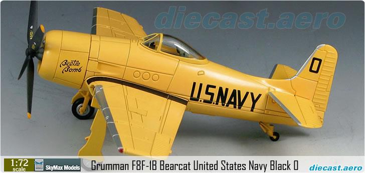 Grumman F8F-1B Bearcat United States Navy Black 0