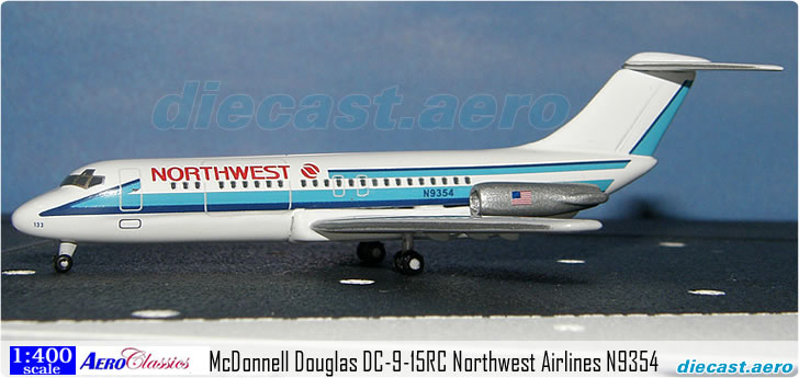 McDonnell Douglas DC-9-15RC Northwest Airlines N9354