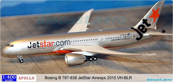 Boeing B 787-838 JetStar Airways 2010 VH-BLR