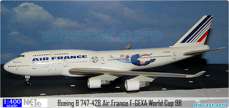 Boeing B 747-428 Air France F-GEXA World Cup 98