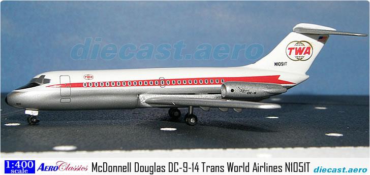 McDonnell Douglas DC-9-14 Trans World Airlines N1051T