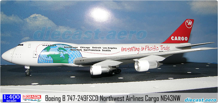 Boeing B 747-249FSCD Northwest Airlines Cargo N643NW