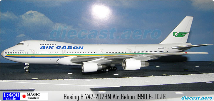 Boeing B 747-2Q2BM Air Gabon 1990 F-ODJG