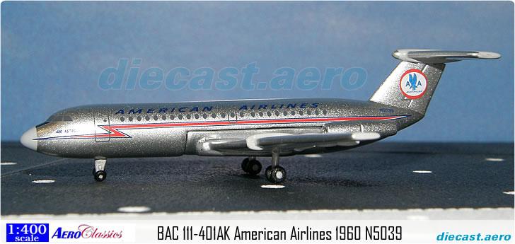 BAC 111-401AK American Airlines 1960 N5039