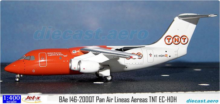 BAe 146-200QT Pan Air Lineas Aereas TNT EC-HDH