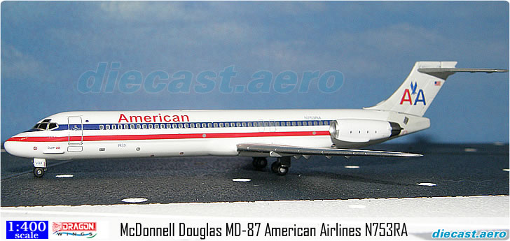 McDonnell Douglas MD-87 American Airlines N753RA