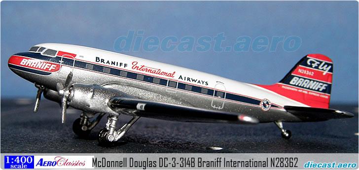 McDonnell Douglas DC-3-314B Braniff International N28362