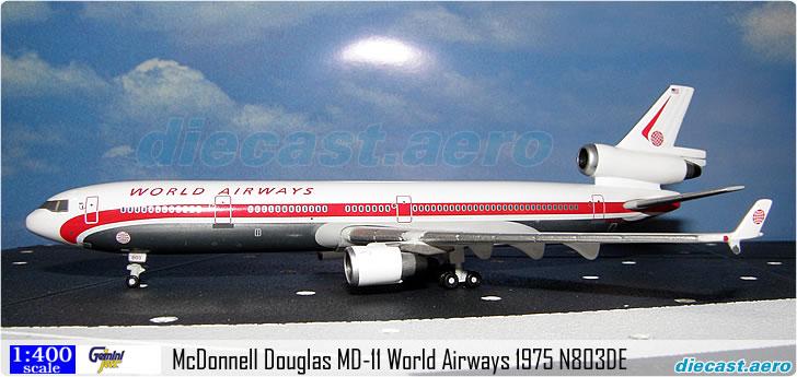 McDonnell Douglas MD-11 World Airways 1975 N803DE
