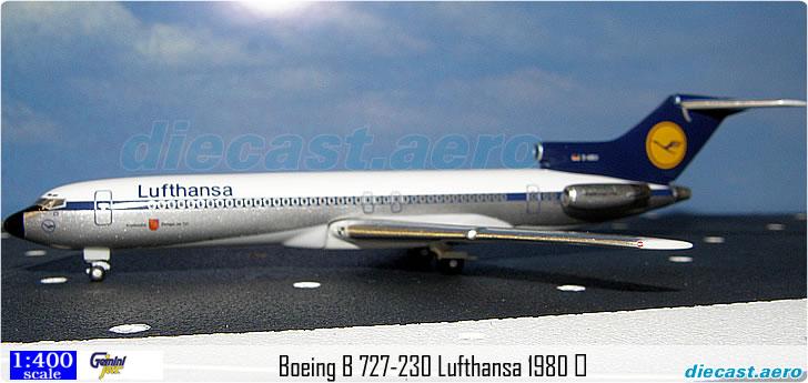 Boeing B 727-230 Lufthansa 1980 D-ABCI