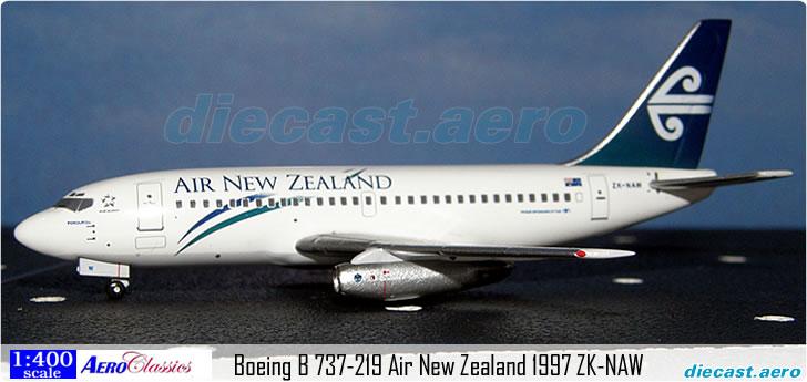 Boeing B 737-219 Air New Zealand 1997 ZK-NAW