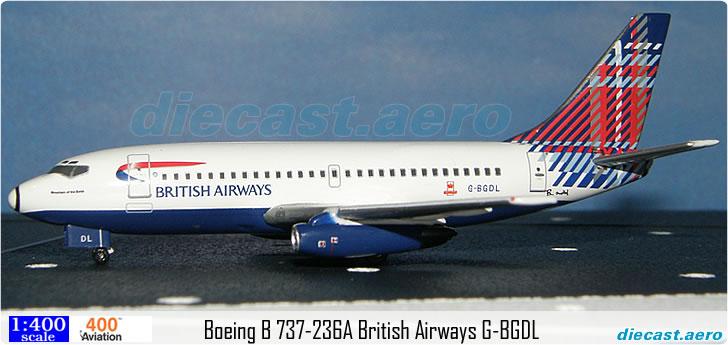 Boeing B 737-236A British Airways G-BGDL