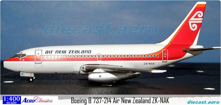 Boeing B 737-214 Air New Zealand ZK-NAK