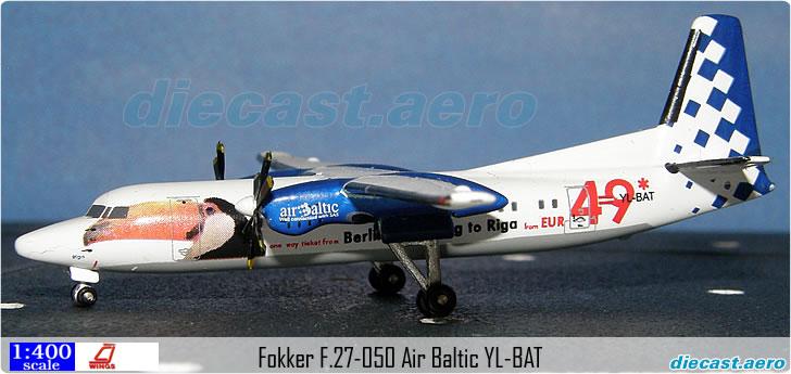 Fokker F.27-050 Air Baltic YL-BAT