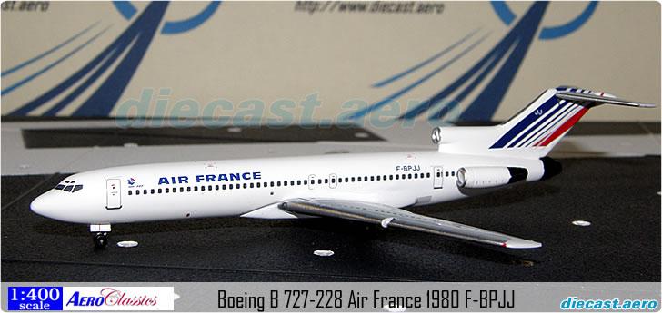 Boeing B 727-228 Air France 1980 F-BPJJ