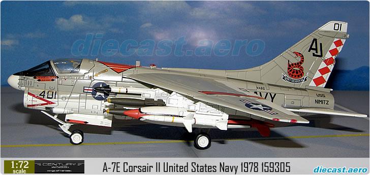 A-7E Corsair II United States Navy 1978 159305