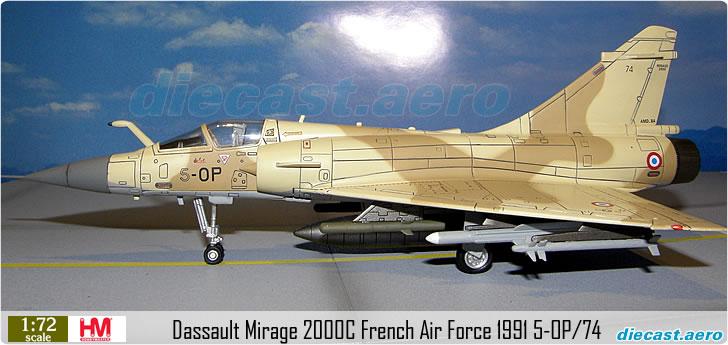 Dassault Mirage 2000C French Air Force 1991 5-OP/74
