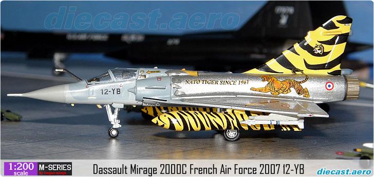 Dassault Mirage 2000C French Air Force 2007 12-YB